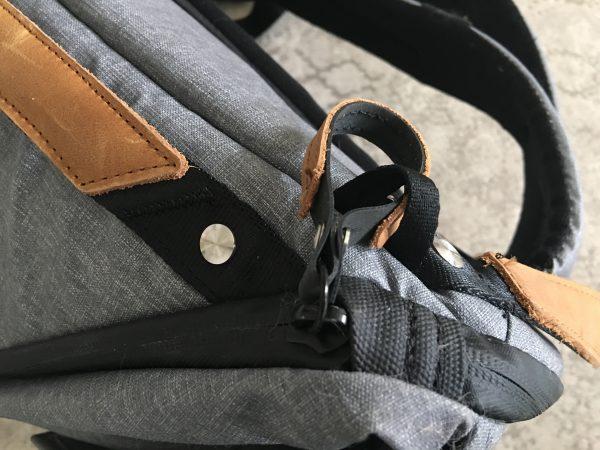 Sicherung am Zipper