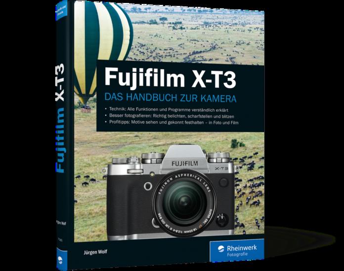buchcover Fujifilm X-T3 Handbuch zur Kamera